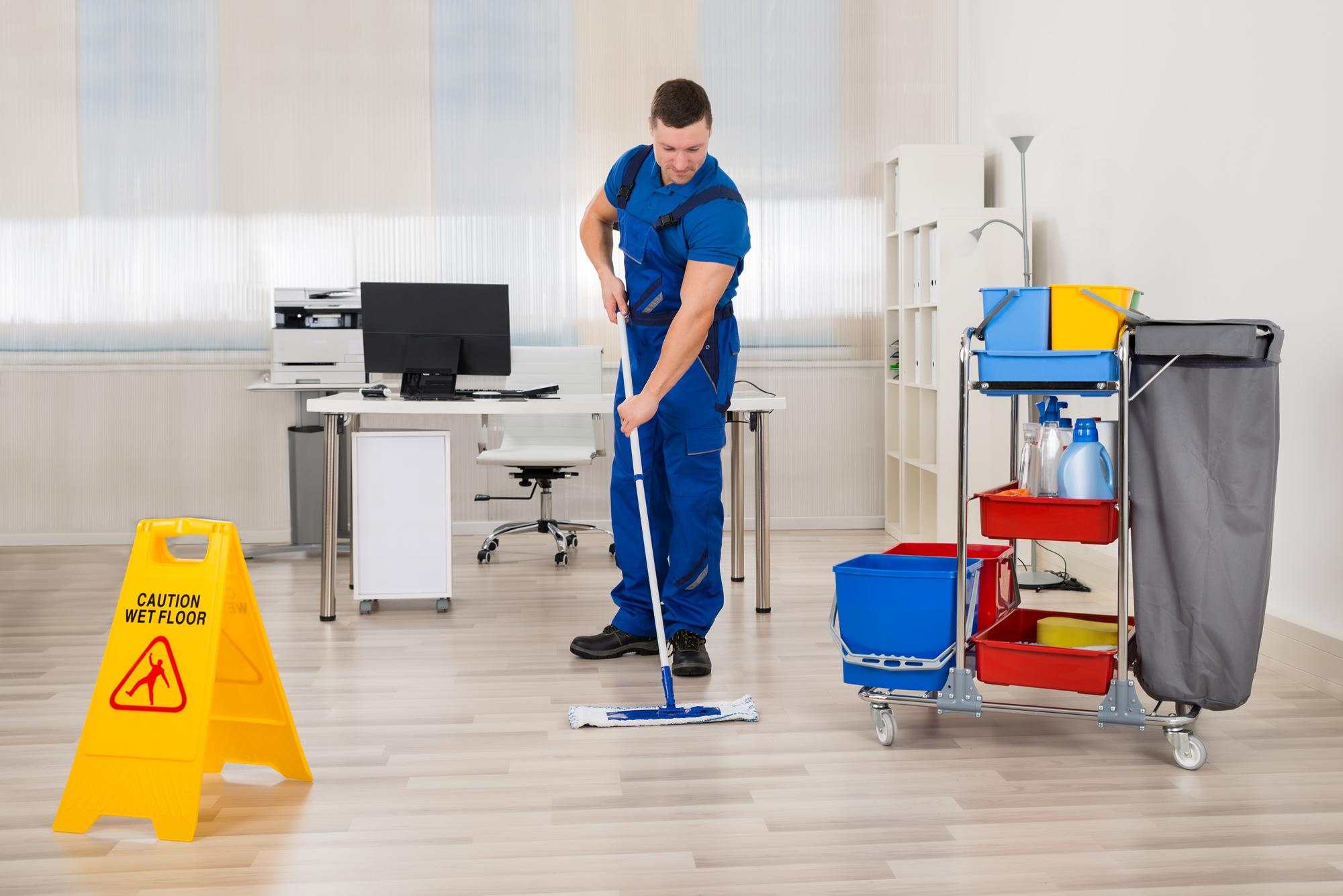nettoyage des bureaux