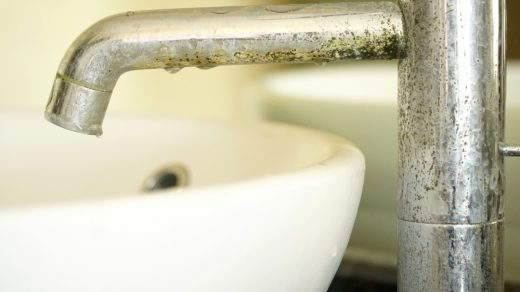calcaire du robinet